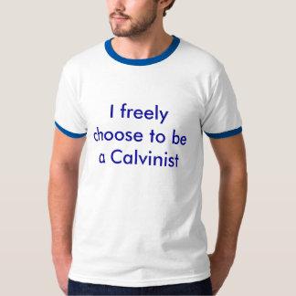 Free-will Calvinist T-Shirt