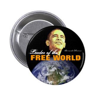 Free World 6 Cm Round Badge