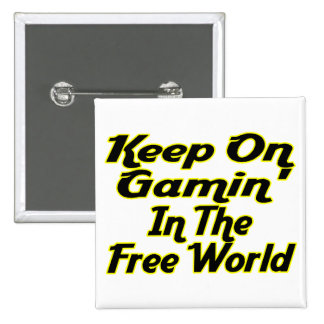 Free World Gaming 15 Cm Square Badge