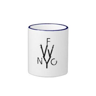 Free Write Monogram Mug! Ringer Mug