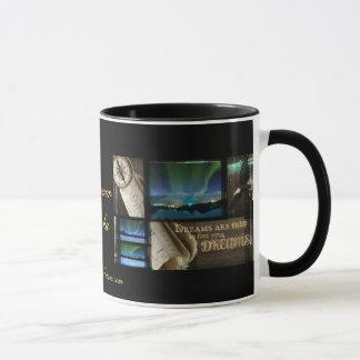 Free Your Dreams Aurora Mug