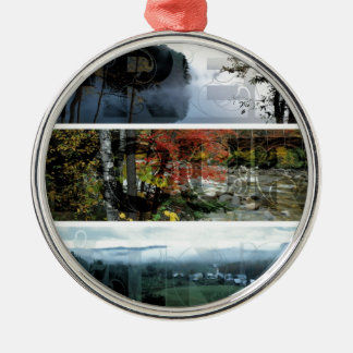 Free Your Mind Panoramic Scenery - Explore Worlds Christmas Ornament