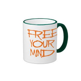 Free Your Mind Ringer Mug
