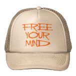 Free Your Mind Trucker Hats