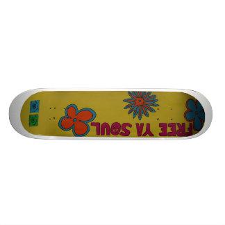 Free Your Soul Skate Board Decks