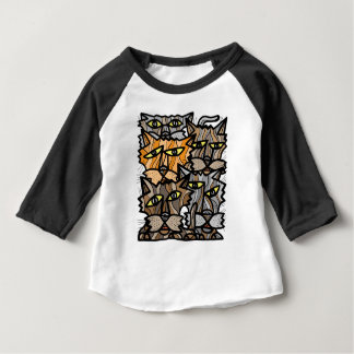 """Free Yourself"" Baby 3/4 Raglan T-Shirt"