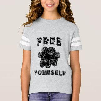 """Free Yourself"" Girls' Sports Shirt"