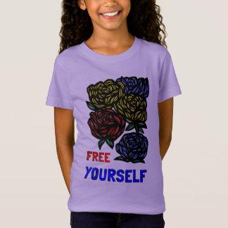 """Free Yourself"" Girls' T-Shirt"