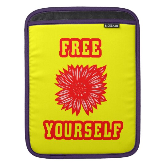 """Free Yourself"" Ipad Soft Case"