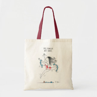 Free yourself! Just dance! Budget Tote Bag