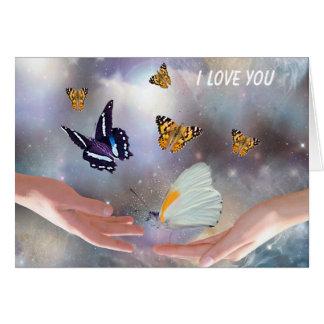 Freebie card - I love you
