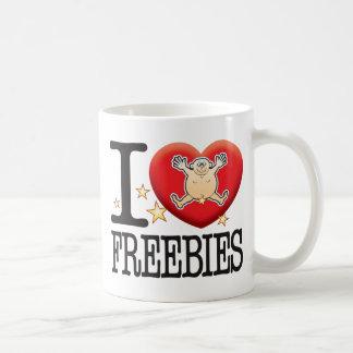 Freebies Love Man Basic White Mug