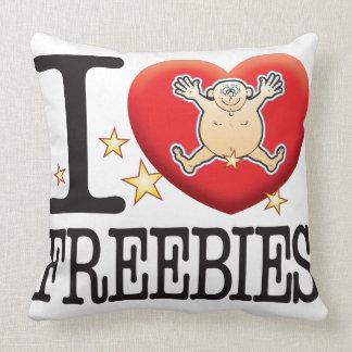 Freebies Love Man Throw Cushions