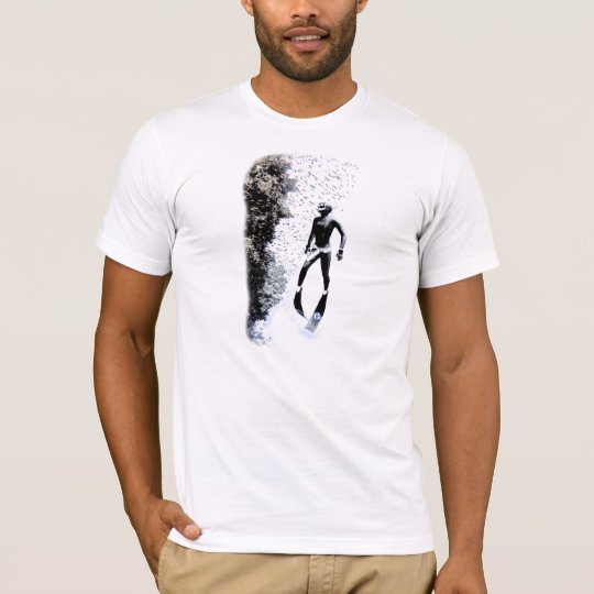 Freediver Reef - Fitted. Organic (mens) T-Shirt