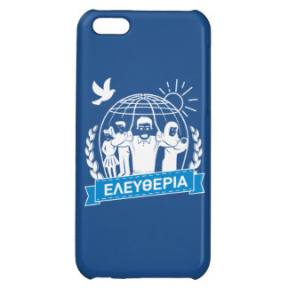 FREEDOM (ΕΛΕΥΘΕΡΙΑ) - GREEK LANGUAGE - GREECE iPhone 5C CASE