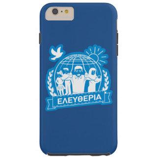 FREEDOM (ΕΛΕΥΘΕΡΙΑ) - GREEK LANGUAGE - GREECE TOUGH iPhone 6 PLUS CASE