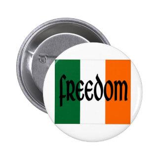 Freedom 6 Cm Round Badge