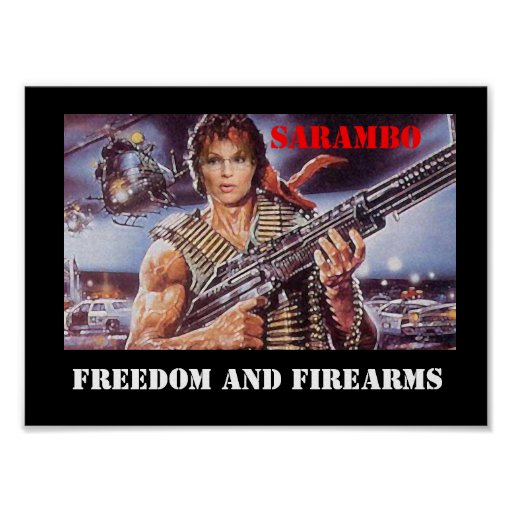 FREEDOM AND FIREARMS POSTERS