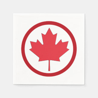 Freedom And Independence Canada Day Party Napkins Paper Serviettes