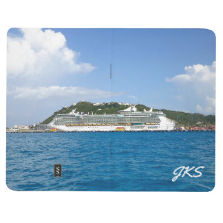 Freedom at St. Maarten Monogrammed Journal