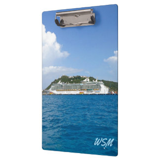 Freedom at St. Martin Monogrammed Clipboards