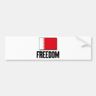 Freedom - Bahrain Bumper Stickers