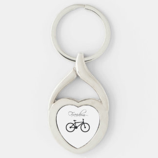 Freedom Bicycle Key Chains