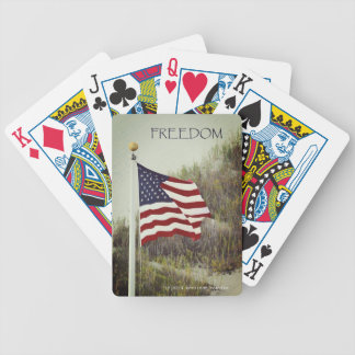 FREEDOM Bicycle Playing Cards