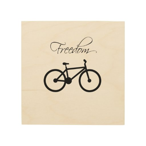 Freedom Bicycle Wood Canvas
