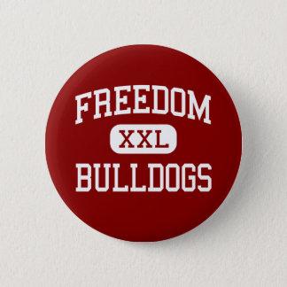 Freedom - Bulldogs - Area - Freedom Pennsylvania 6 Cm Round Badge