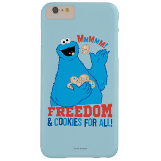 Freedom & Cookies For All! Barely There iPhone 6 Plus Case