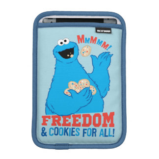 Freedom & Cookies For All! iPad Mini Sleeves