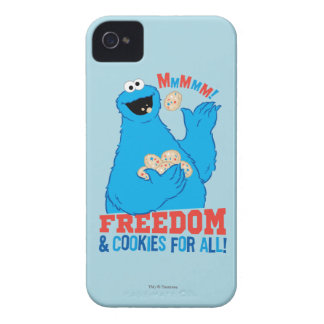 Freedom & Cookies For All! iPhone 4 Case-Mate Cases