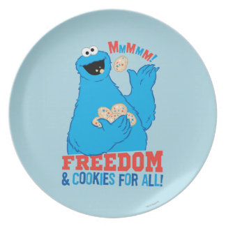 Freedom & Cookies For All! Plate