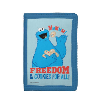 Freedom & Cookies For All! Trifold Wallet