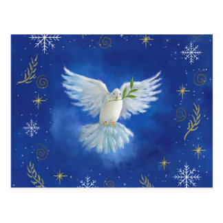 Freedom Dove, peace on earth Postcard