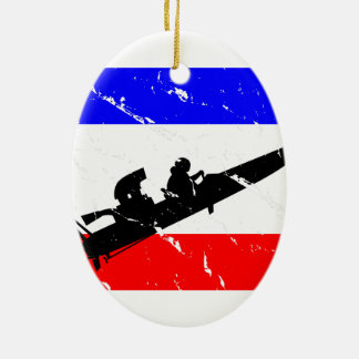 Freedom Drag-Boat FLAIR Christmas Ornament