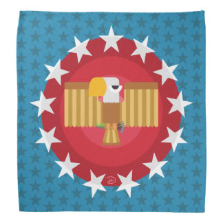 Freedom Eagle (Blue) - Bandana
