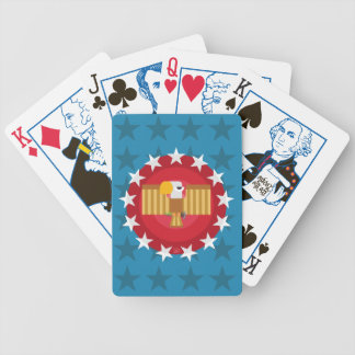 Freedom Eagle (Blue) - Election Playing Cards