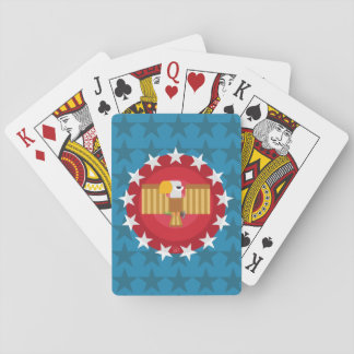 Freedom Eagle (Blue) - Playing Cards
