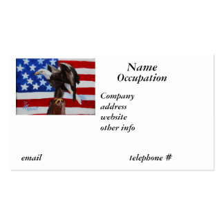 Freedom Eagle Business Card