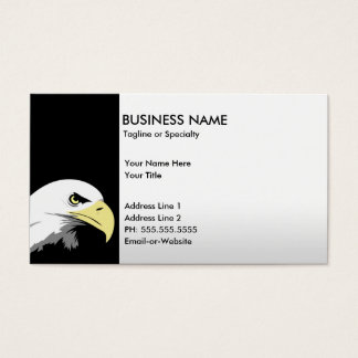 freedom eagle business card