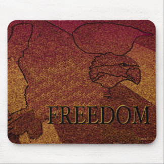 Freedom Eagle Mouse Pad