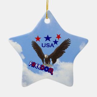 Freedom Eagle Patriotic Ornament