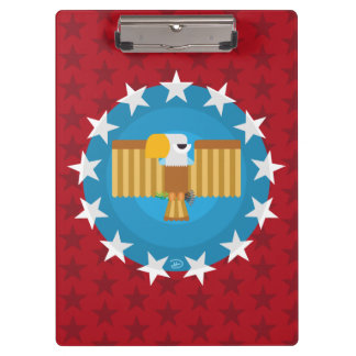 Freedom Eagle (Red) - Clipboard