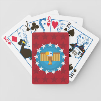 Freedom Eagle (Red) - Election Playing Cards