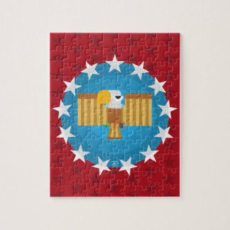 Freedom Eagle (Red) - Puzzle