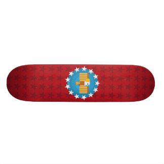 Freedom Eagle (Red) - Skateboard Deck