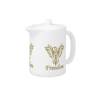 FREEDOM EAGLE teapot
