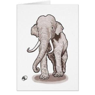 """Freedom"" Elephant Greeting Card"